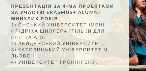 Erasmus+ Презентація проектів 2017