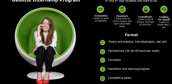 Deloitte Summer Internship Program 2018