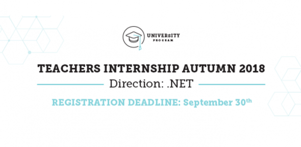 EPAM Teachers Internship Autumn 2018