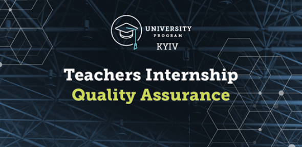 EPAM Teachers Internship Winter 2019: Quality Assurance