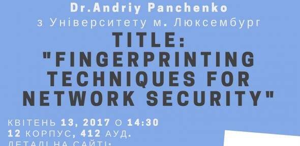 Fingerprinting Techniques for Network Security